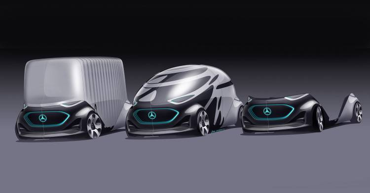 Mercedes Vision Urbanetic 11