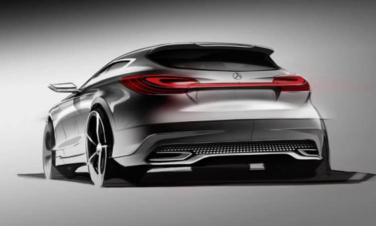 Boceto del Mercedes-Benz Clase A Concept
