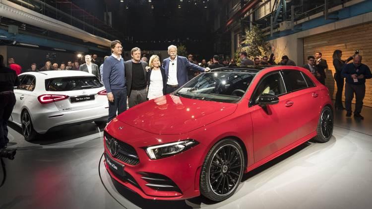 Weltpremiere der neuen Mercedes-Benz A-Klasse. Amsterdam 2018