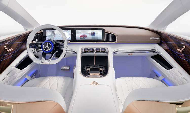 Vision Mercedes Maybach Ultimate Luxury, Auto China 2018