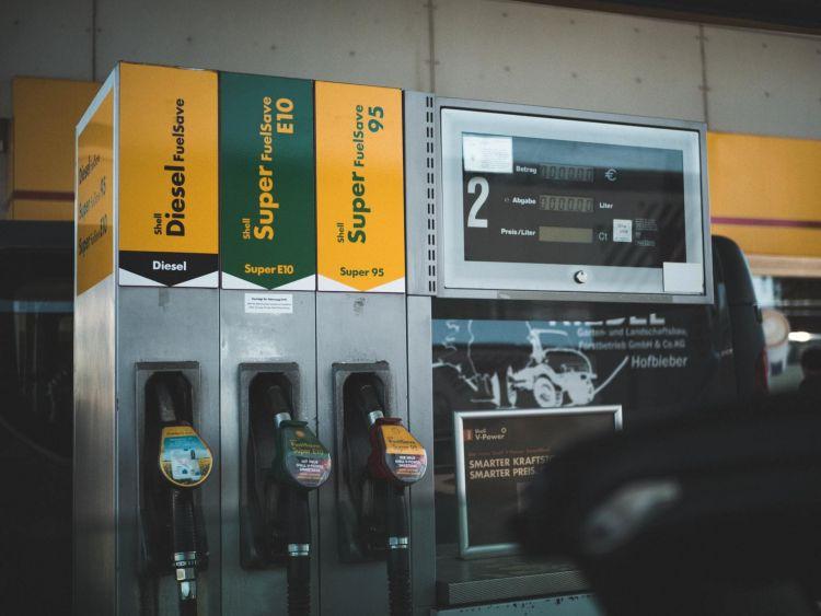 Mezclar Gasolina 95 98a Surtidor Gasolinera