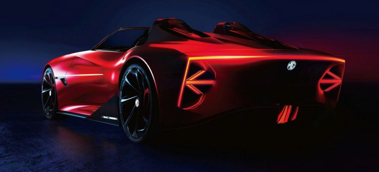 Mg Cyberster Concept P