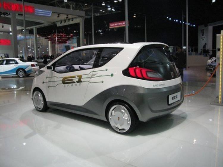 Lo mejor de SAIC: Roewe E1 Concept y MG Zero Concept