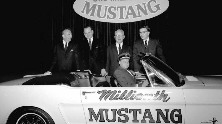 Millionth Ford Mustang