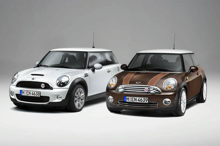 Mini 50 Mayfair y Camdem