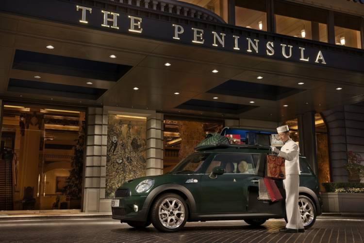 Mini Cooper S Clubman para el hotel The Peninsula