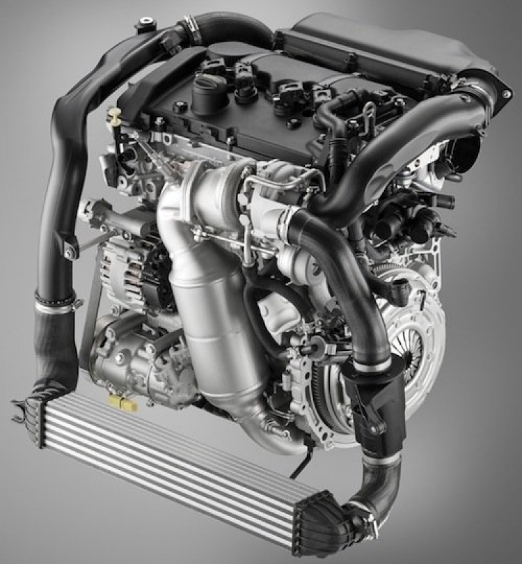 Motor Mini Cooper S 2011