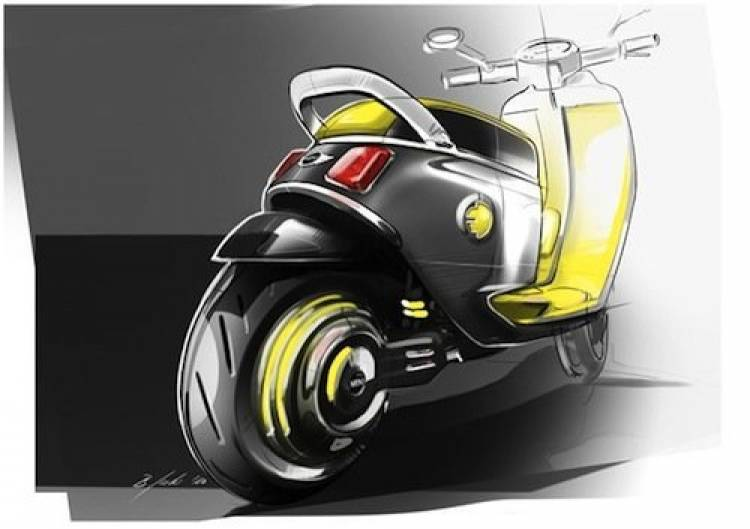 Mini E Scooter Concept