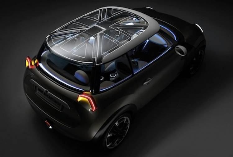 Mini Rocketman Concept, el Mini más mini