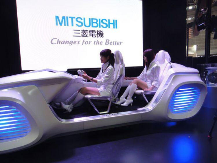 Mitsubishi Coche Retro Futurista 2