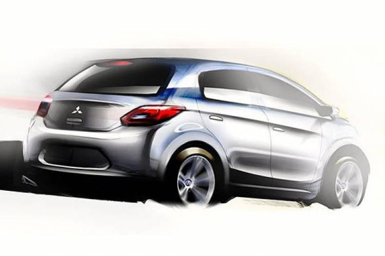 Boceto utilitario Mitsubishi