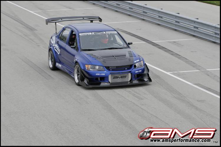 Mitsubishi Lancer Evolution IX AMS Blue Demon