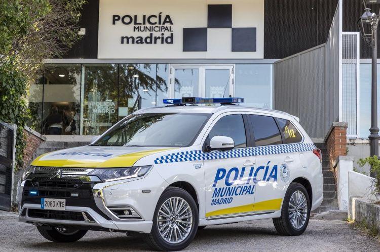 Mitsubishi Outlander Phev Policia Madrid 1