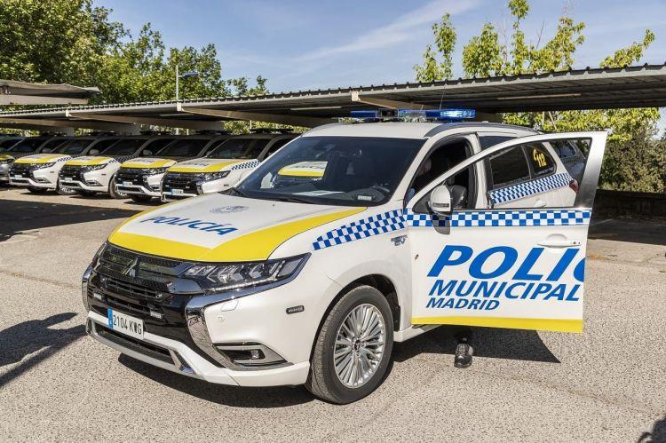 Mitsubishi Outlander Phev Policia Madrid 4