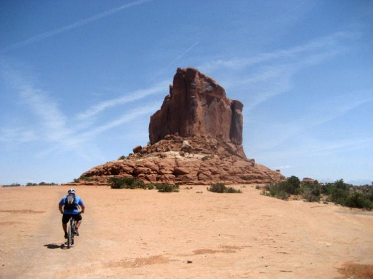 En Semana Santa, el desierto del Moab en un Jeep Wrangler Rubicon