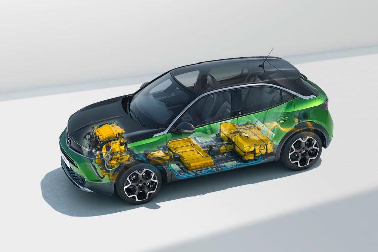 Mokka Electrico Oferta Abril 2021 Esquema de Bateria do Motor