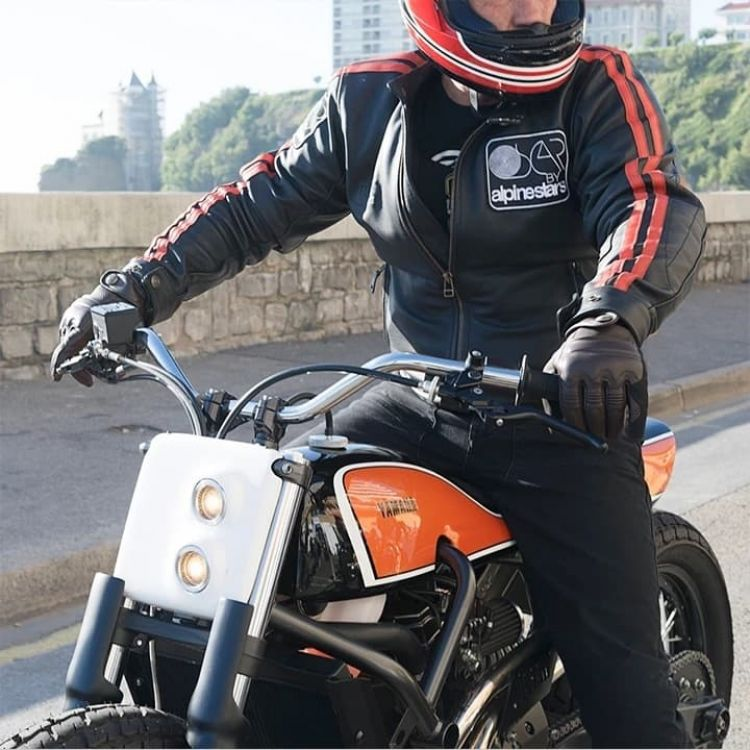 Moto Alpinestars Airbag Chaqueta