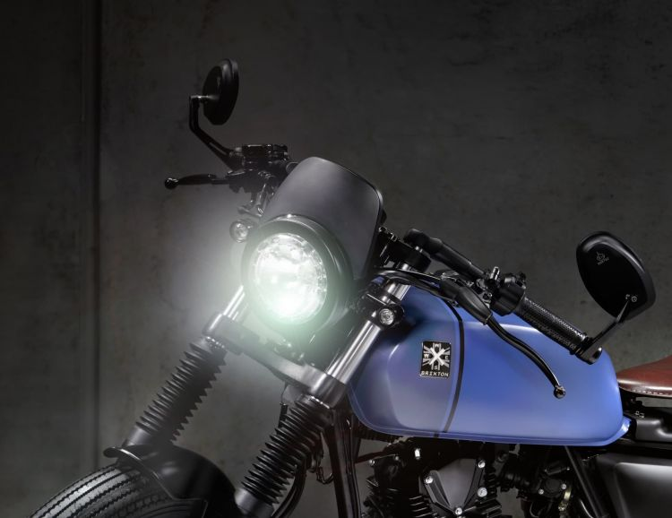 Moto Brixton Rayburn 125 Bobber Cupula