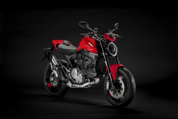 Moto Ducati Monster 2021 Plus1