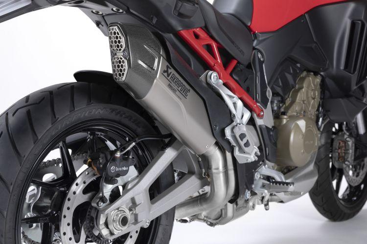 Moto Ducati Multistrada V4 Escape Akrapovic1