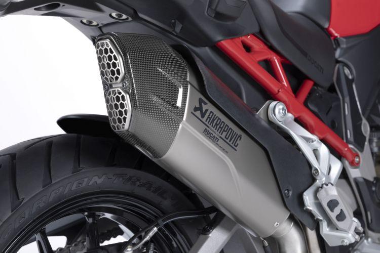 Moto Ducati Multistrada V4 Escape Akrapovic2
