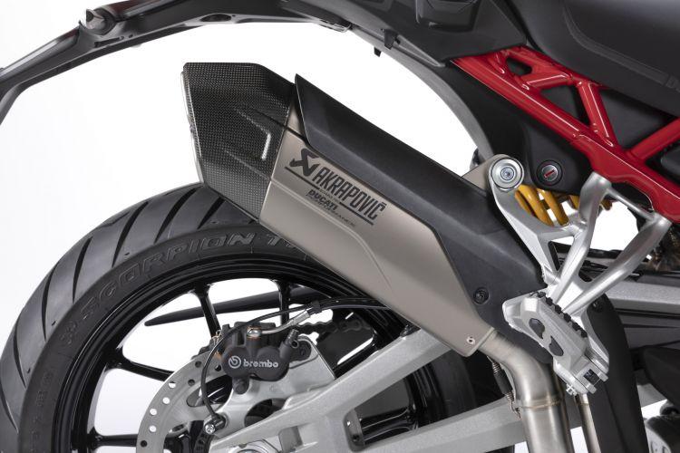 Moto Ducati Multistrada V4 Escape Akrapovic3