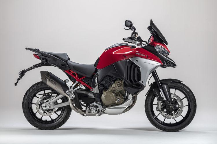 Moto Ducati Multistrada V4 Escape Akrapovic6