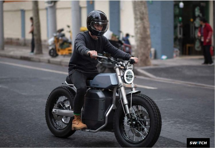 Moto Electrica Switch E Scrambler 1