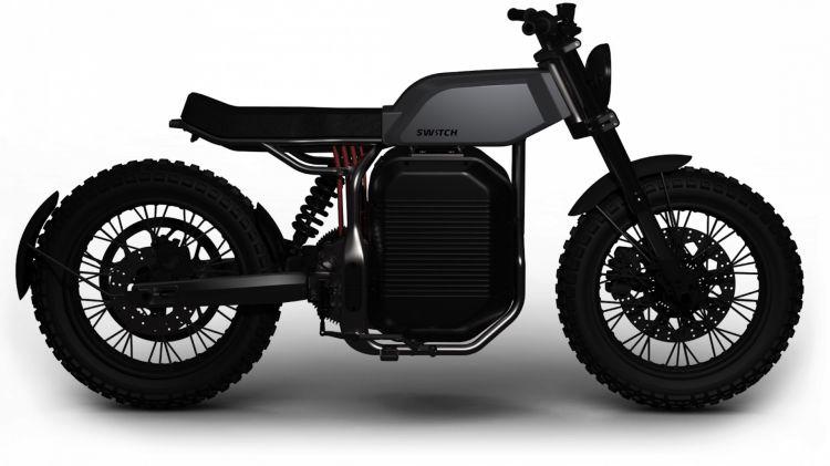 Moto Electrica Switch Escrambler Render