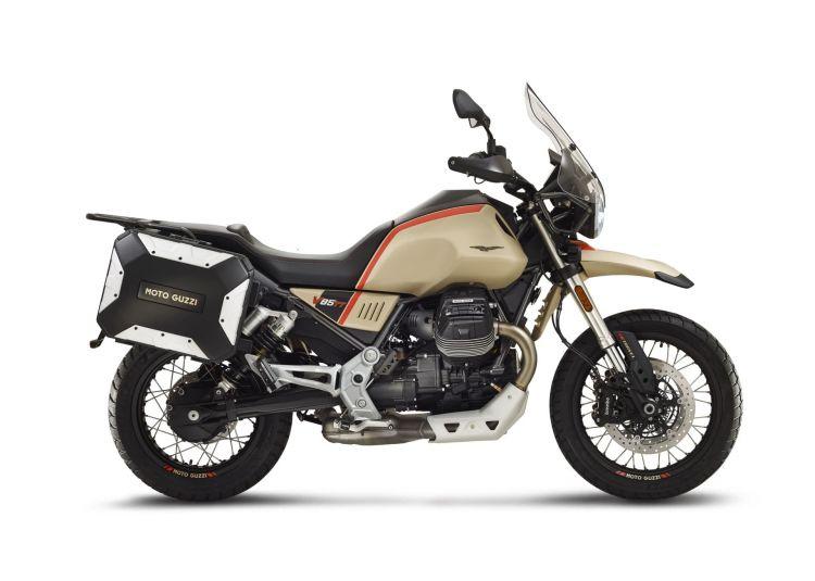 Moto Guzzi V85 Tt Travel Lateral