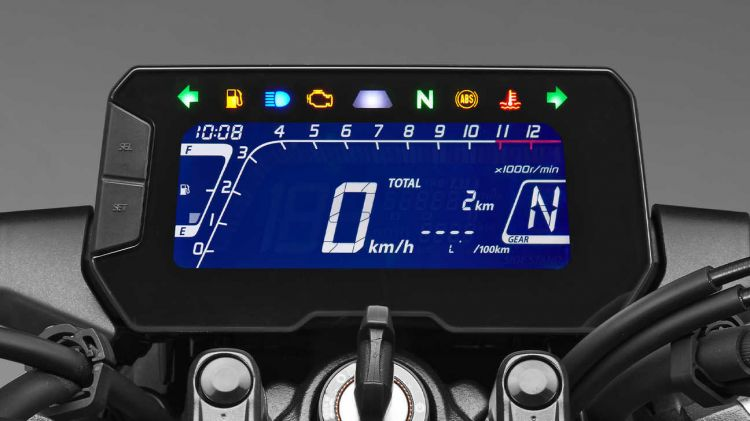 Moto Honda Cb125r Display