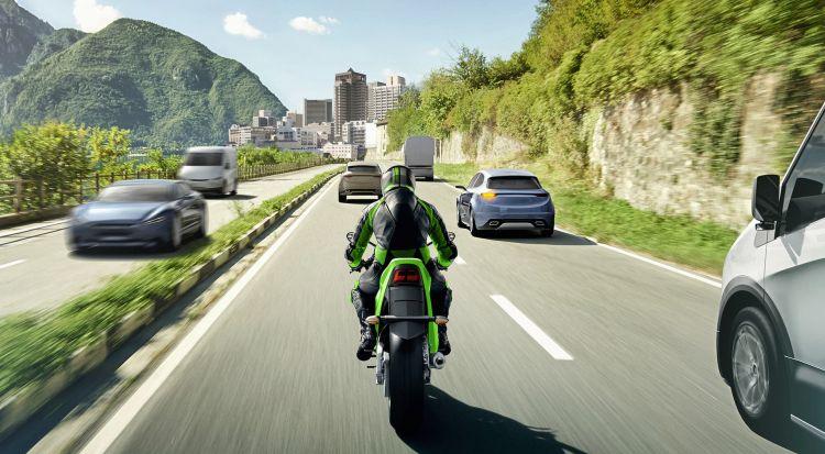 Moto Kawasaki Aras
