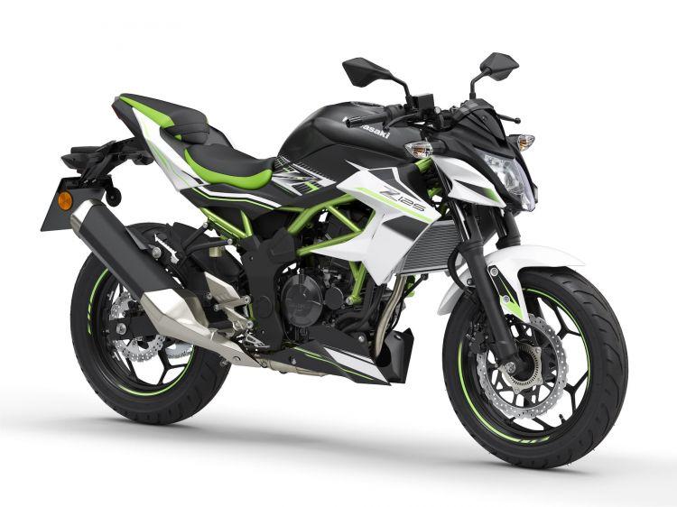 Moto Kawasaki Z125 2021