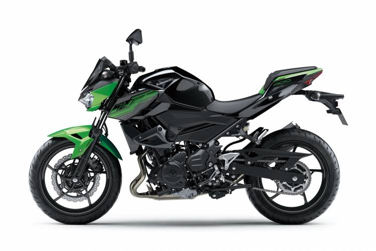 Moto Kawasaki Z400 Dm 9
