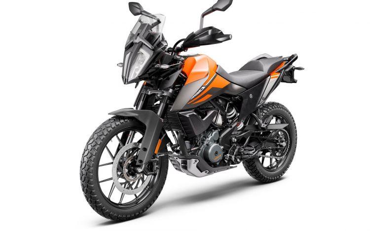 Moto Ktm 390 Adventure My20 Front Left