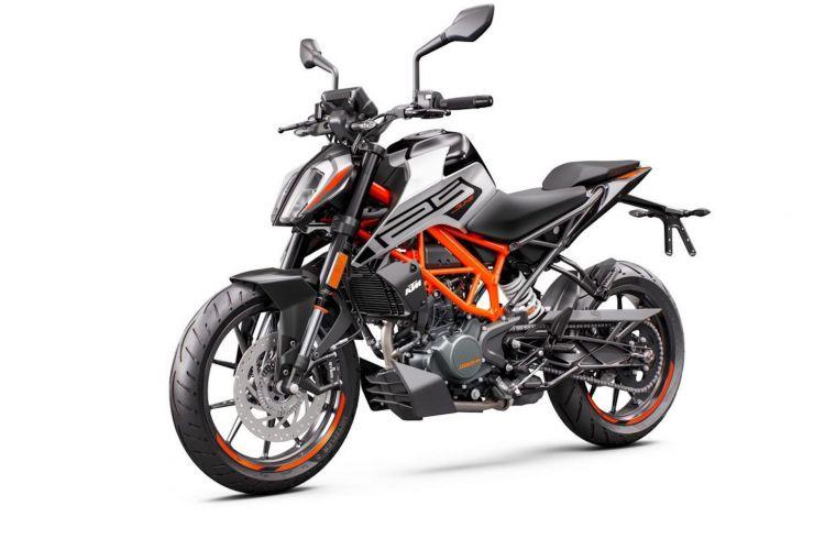 Moto Ktm Duke 125 2021 8