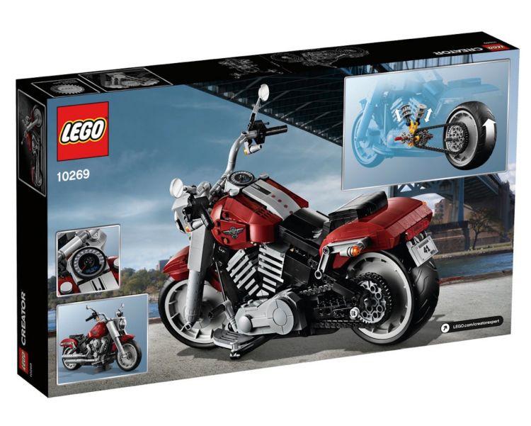 Moto Lego Harley Davidson Fatboy10