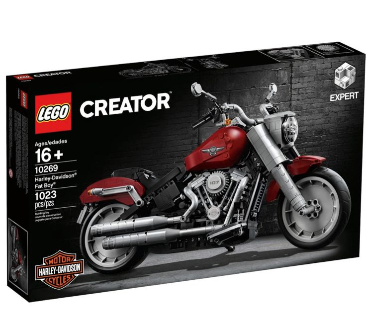 Moto Lego Harley Davidson Fatboy9
