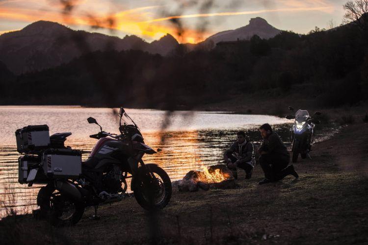 Macbor Motorcycle New Model Montana Xr5 500
