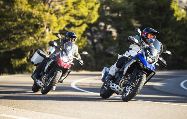 Moto Macbor Nuevo Modelo Montana Xr5 Trail Bicilindrica