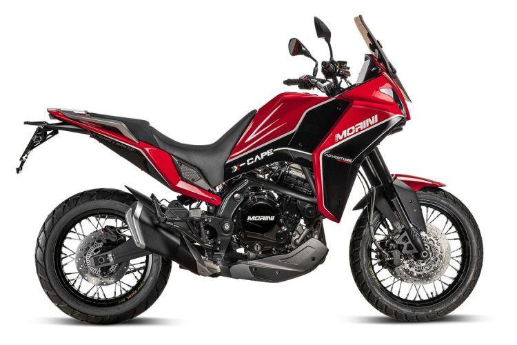 Moto Morini X Cape Der