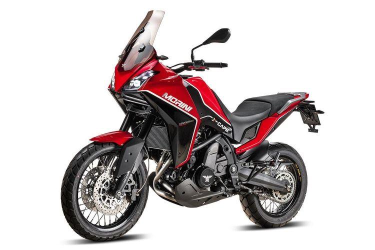 Moto Morini X Cape Izq