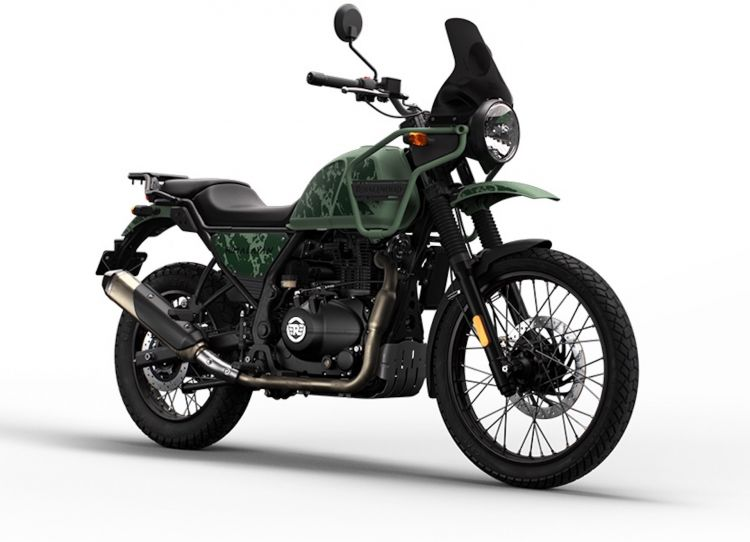 Moto Royal Enfield Himalayan 2021 11