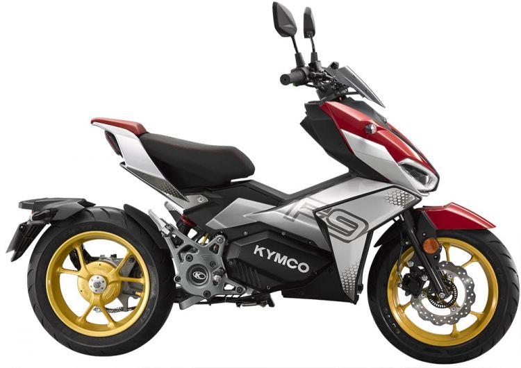 Moto Scooter Kymco F9