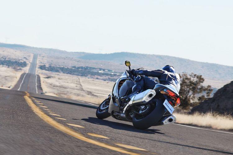 Moto Suzuki Hayabusa 2021 Accion 14