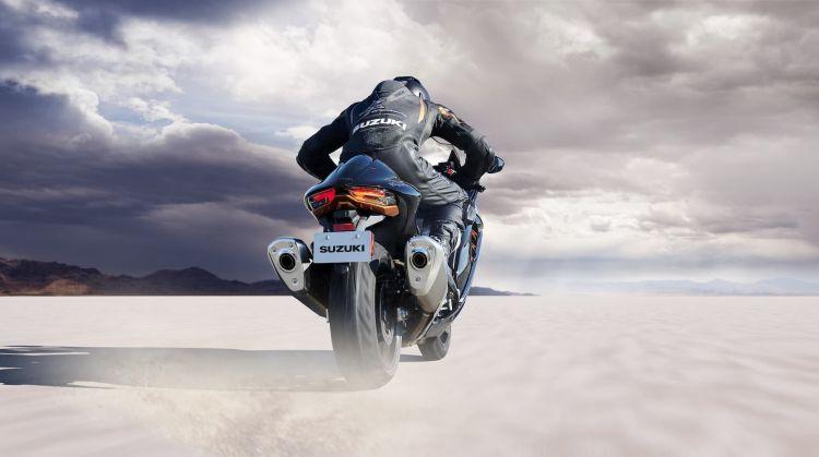 Moto Suzuki Hayabusa 2021 Accion 2
