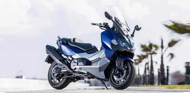 Moto Sym Maxsym 500 Calle
