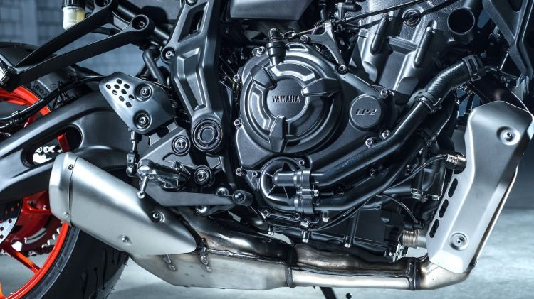 Moto Yamaha Mt07 2021 Bloque