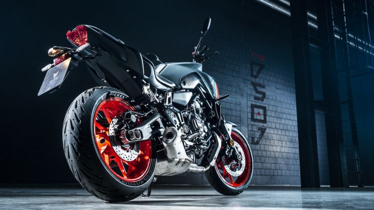 Moto Yamaha Mt07 2021 Estatico3
