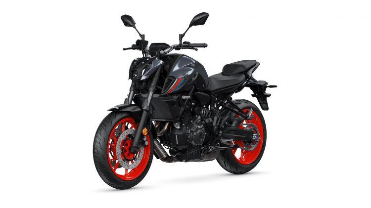 Moto Yamaha Mt07 2021 Estudio